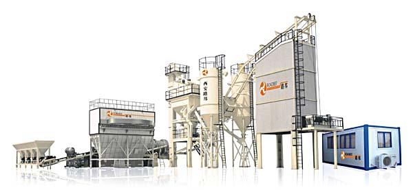 西安路邦LB系列沥青混合料搅拌设备