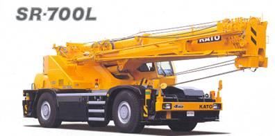 加藤SR-700L越野轮胎起重机