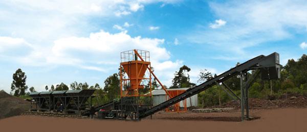 华通动力WBSD300稳定土厂拌设备