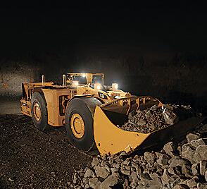 卡特彼勒R2900G井下矿运机