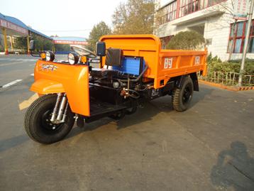 时风中置矿用轴传动三轮运输车
