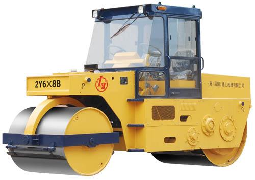国机洛建2Y6X8B两轮静碾压路机