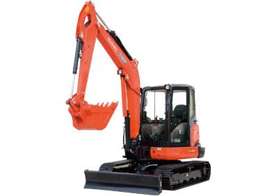 久保田KX165-5无尾回转小型挖掘机
