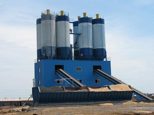中建机械商业混凝土专用搅拌站180m3混凝土搅拌站