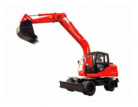 宝鼎WYL150轮式挖掘机