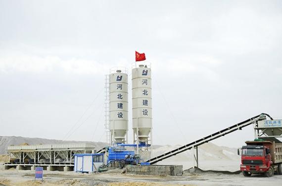 陆德WCBD600稳定土厂拌设备