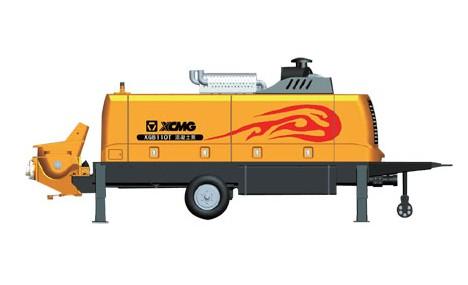 徐工XGB110T拖泵
