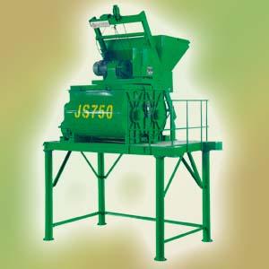 北山JS750双卧轴强制式混凝土搅拌机