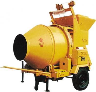 银锚JZC350A锥型反转出料混凝土搅拌机