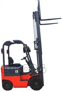 梅狮CPD15QA型四支点平衡重座式全电动叉车