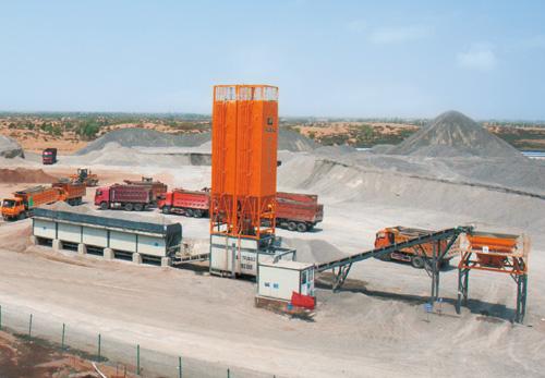 华通动力WBS700E稳定土厂拌设备