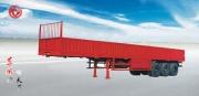 东风三桥栏板式半挂车半挂车