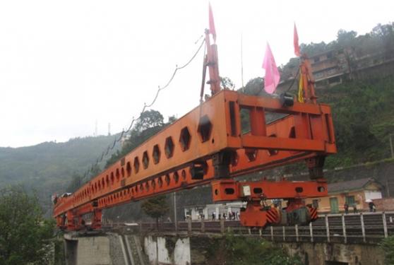 华中建机HZQ系列公铁两用架桥机