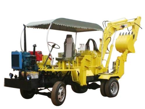 新振XZ-30轮式挖掘机