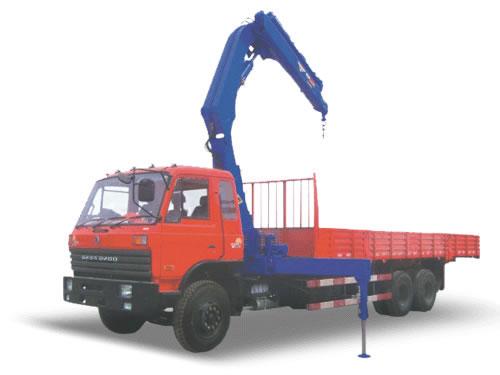 湖南飞涛SQZ2503 12吨折臂3节臂随车起重机