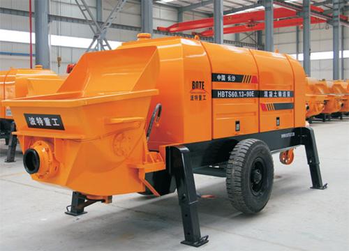 波特重工HBT電機系列拖泵(力士樂主油泵)