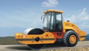 科泰重工KS185D单钢轮压路机(双驱)