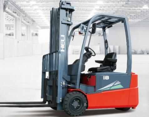 合力1.5-2.0吨前驱三支点蓄电池平衡重式叉车