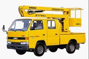 海伦哲XHZ5030JGKA江铃9.5米折叠臂高空作业车