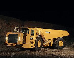 卡特彼勒AD45B井下铰接式卡车