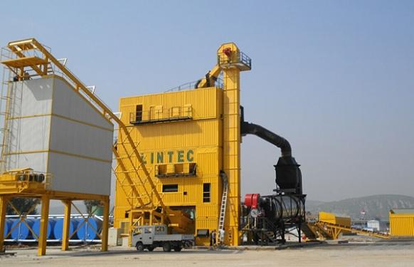 林泰阁CSM4000集装箱式沥青混凝土搅拌站