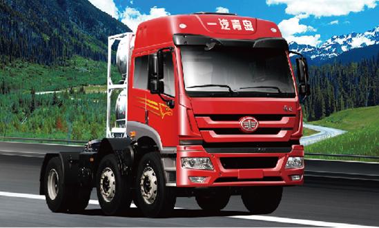 青岛解放新悍威LNG6×2牵引车(轻量化)
