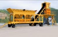 信达机械移动式混凝土搅拌站