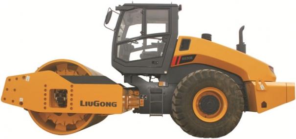 柳工CLG6630E全液压双驱单钢轮压路机