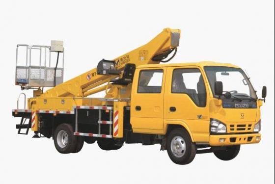 海伦哲XHZ5071JGK庆铃18米伸缩臂高空作业车