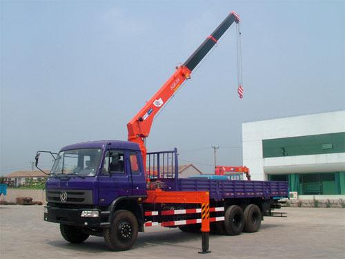 青山KS1253直臂式随车起重机