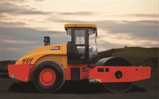 科泰重工KS225H-2单钢轮压路机(单驱)