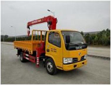 常林CHL5040JSQD5随车起重运输车