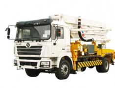 陕汽德龙6×4混凝土泵车