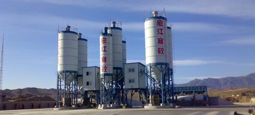 中建机械商业混凝土专用搅拌站90m3混凝土搅拌站