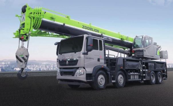中联重科ZTF550V汽车起重机