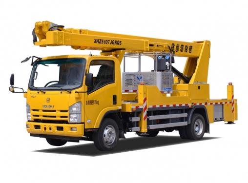 海伦哲XHZ5107JGKQ5庆铃25.5m混合臂高空作业车