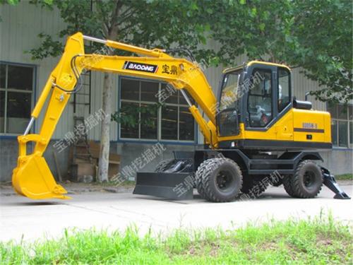 宝鼎BD95W-9轮式挖掘机