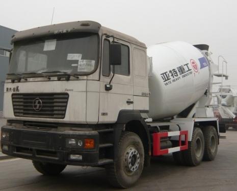 亚特重工TZ5255GJBSA6德龙10立方混凝土搅拌车