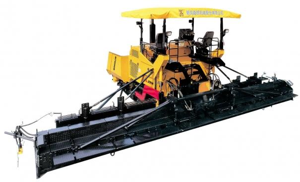 新筑MT9500A履带式机械加宽摊铺机