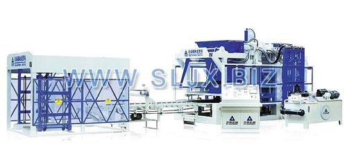三联机械QFT18-15型砌块成型机