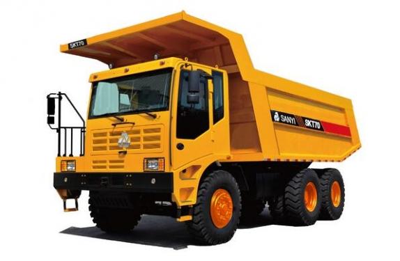 三一重工SKT70AT宽体自卸车