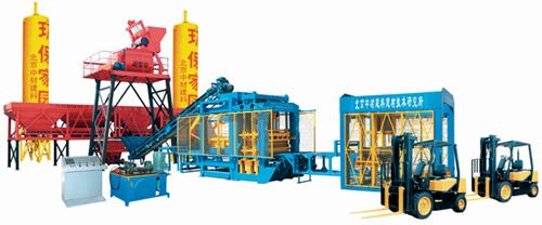 中材建科QTY12-15型液压全自动砖机