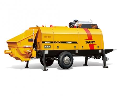 三一重工HBT6013C-5S柴油机拖泵