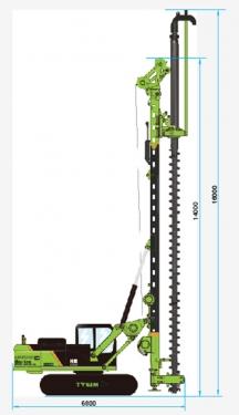 泰信机械KR90M旋挖钻机