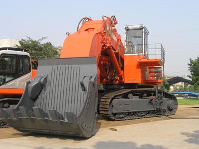 邦立CED1250-7正铲电动液压挖掘机