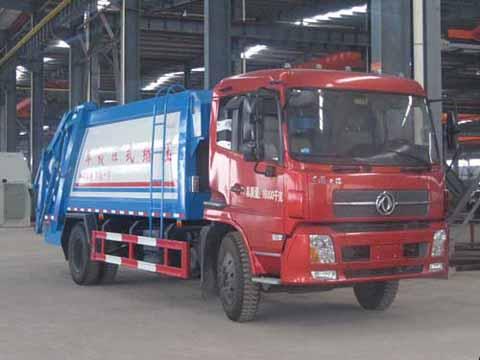 楚飞东风天锦(8吨)压缩式垃圾车