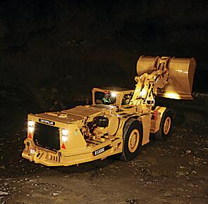 卡特彼勒R1300G井下矿运机