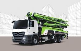 中联重科ZLJ5540THBS 63X-6RZ泵车