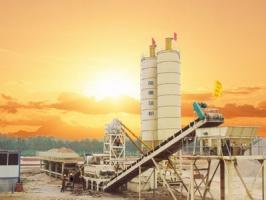 陆德WCBD500系列稳定土厂拌设备