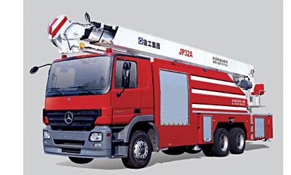 徐工JP32A举高喷射消防车